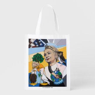 En honor de Hillary Clinton Bolsa Para La Compra
