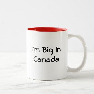 En honor de mis amigos y fans canadienses taza dos tonos