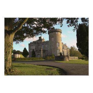 En Irlanda, la entrada lateral del castillo de Dro Fotografías