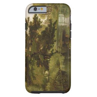 En ISIS, Waterperry, Oxfordshire, 1806 (aceite Funda Resistente iPhone 6