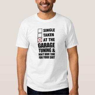 En la adaptación del garaje poleras