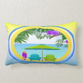 En la almohada del Lumbar de la playa