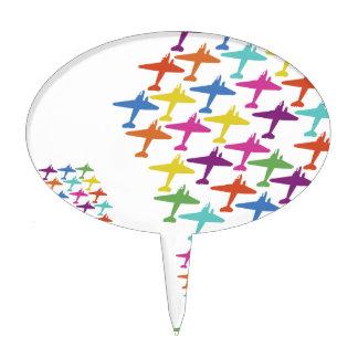 En la aviación del vuelo del globo del aeroplano d figuras de tarta