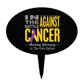 En la batalla contra cáncer de vejiga decoraciones para tartas