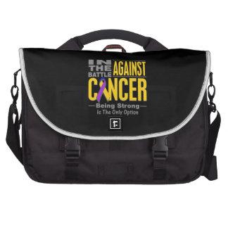 En la batalla contra cáncer de vejiga bolsas para portatil