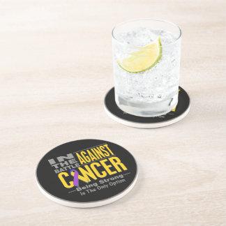 En la batalla contra cáncer de vejiga posavasos para bebidas