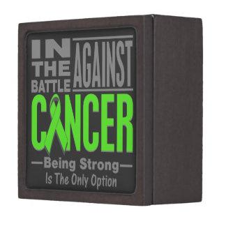 En la batalla contra el linfoma de Non-Hodgkins Caja De Regalo De Calidad