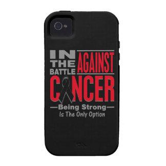 En la batalla contra melanoma vibe iPhone 4 funda