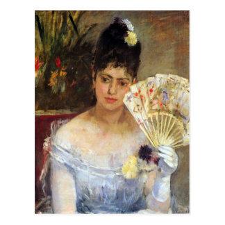En la bola de Berthe Morisot Tarjetas Postales
