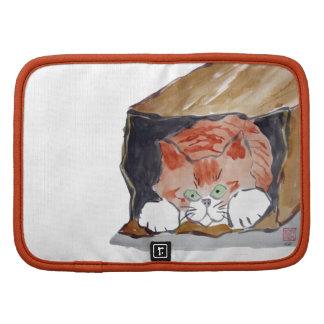 En la bolsa de papel - el gatito está ocultando… planificadores