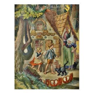 En la cabaña de la bruja postal