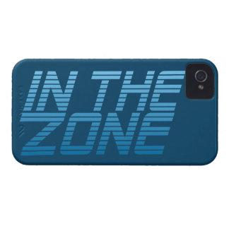 EN la caja de encargo de Blackberry de la ZONA iPhone 4 Carcasas