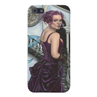 en la caja gótica robada del teléfono 3 del faery iPhone 5 fundas
