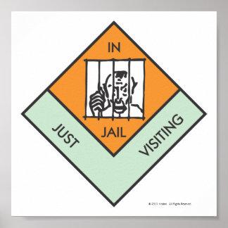 En la cárcel apenas que visita póster