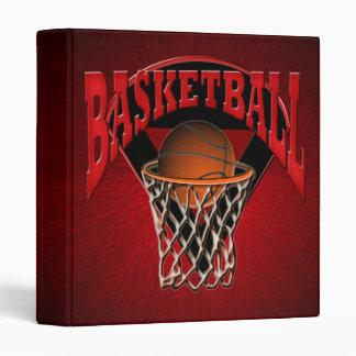 En la carpeta neta del baloncesto y del tablero