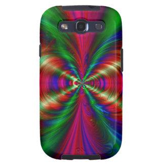 En la casamata del arte del fractal de Nexxus Galaxy SIII Carcasa