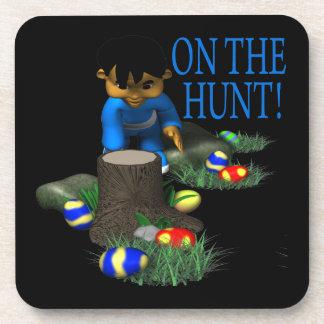 En la caza posavasos