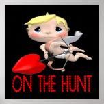 En la caza posters