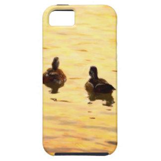 En la charca de oro del pato iPhone 5 cárcasa