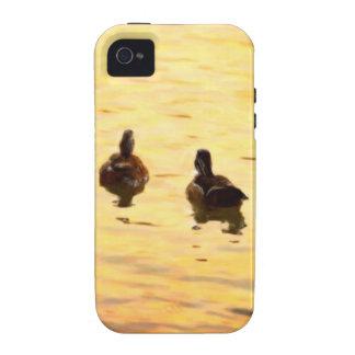 En la charca de oro del pato iPhone 4/4S funda