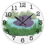 En la charca del hipopótamo relojes de pared