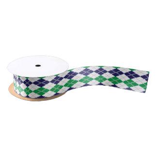 En la cinta verde de Argyle Lazo De Raso