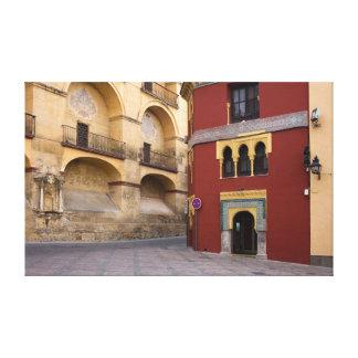 En la ciudad vieja de Córdoba Impresiones En Lienzo Estiradas