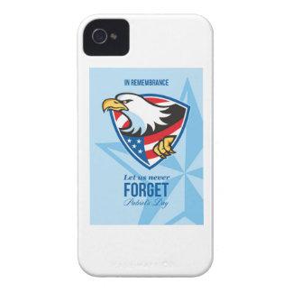 En la conmemoración déjenos nunca olvidan el día P iPhone 4 Protector