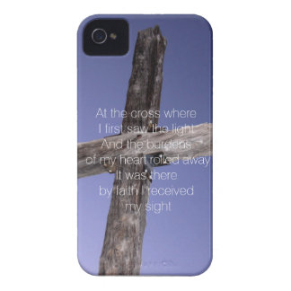En la cruz carcasa para iPhone 4