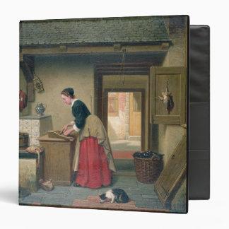 """En la despensa, 1868 (aceite en el panel) carpeta 1 1/2"""""""