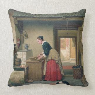 En la despensa, 1868 (aceite en el panel) cojin