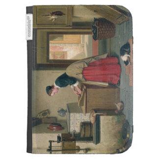 En la despensa, 1868 (aceite en el panel)