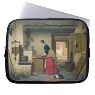 En la despensa, 1868 (aceite en el panel) manga computadora