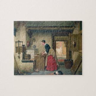 En la despensa, 1868 (aceite en el panel) puzzles