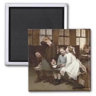 En la detención, 1888 iman de nevera