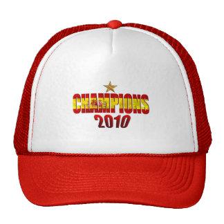 En la estrella 2010 defiende la bandera del regalo gorros bordados