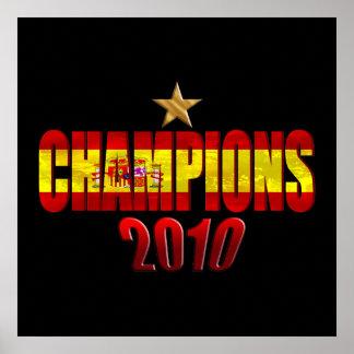 En la estrella 2010 defiende la bandera del regalo poster