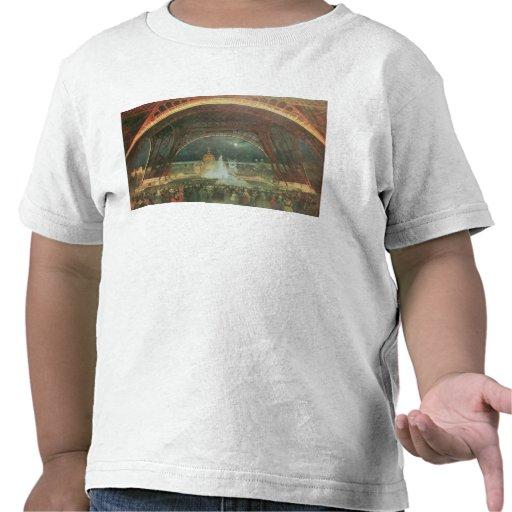 En la explanada de los campeones de Marte Camiseta
