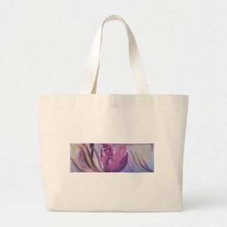 En la floración bolsa tela grande