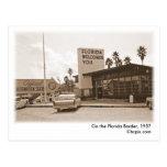 En la Florida Border, postal 1957