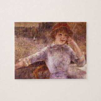 En la Grenouillere by Pierre Renoir Puzzles