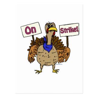 En la huelga - Turquía que habla Postal