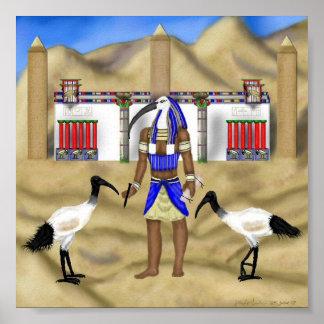 En la imagen de Thoth Póster