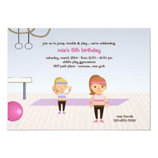 En la invitación de la fiesta de cumpleaños del invitación 12,7 x 17,8 cm