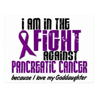 En la lucha contra AHIJADA del cáncer pancreático Tarjeta Postal