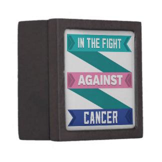 En la lucha contra cáncer de tiroides caja de regalo de calidad