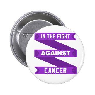 En la lucha contra cáncer del ESENCIAL Pin Redondo De 2 Pulgadas