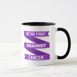 En la lucha contra cáncer del ESENCIAL Taza