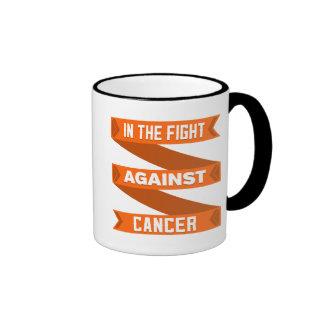 En la lucha contra cáncer del riñón taza de dos colores