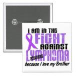 En la lucha contra el linfoma Brother de Hodgkin Pins